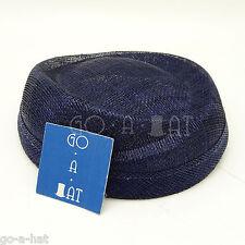 DIY Sinamay Mini Wrapped Pillbox Party Plain Millinery Base Fascinators Hat