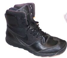 NIKE MENS ACG STASIS BLACK OUT WATERPROOF BOOTS SIZE-14