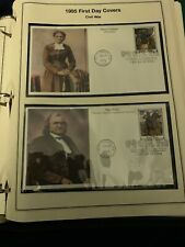 30-American Heirloom Collection of US Stamps Ring Album 1995-96