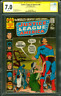 Justice League America 86 CGC SS 7.0 Neal Adams Signed 1970