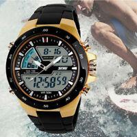 SKMEI Military LED Digital Quartz Chrono Men's Sport Date Waterproof Wrist Watch
