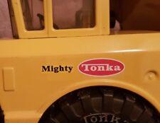 Replacement Cab Decals '76-'77 #3900 Mighty Dump Tonka Truck - Waterproof Vinyl