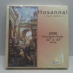 "New Sealed Hosanna! 2000 Piece Jigsaw Puzzle Tom DuBois 22""x47"" SunsOut"