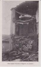 1909  --  ITALIE   UNE MAISON EVENTREE A BAGNARA    CALABRE   3I747