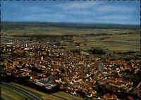 KNITTLINGEN Württemberg vom Flugzeug aus alte Postkarte um 1960/65 Luftaufnahme