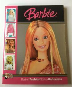 MERLIN - BARBIE FASHION STICKER COLLECTION ALBUM - 100% COMPLETE