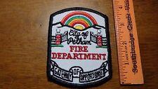 PELHAM  Alabama FIRE DEPARTMENT  FIRE FIGHTER PATCH BX 11# 31