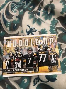 2017 Pittsburgh Steelers huddle Up Football Card