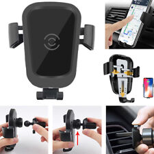 Qi Car Wireless Charger for iPhone X Samsung Galaxy S10 S10e S10+ 10 Plus S10 5G