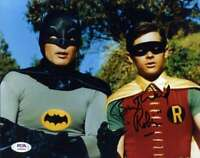 Burt Ward PSA DNA Coa Signed 8x10 Batman Abd Robin Photo Autograph