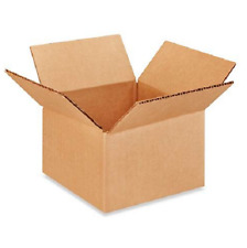 100 6x6x4 Cardboard Paper Boxes Mailing Packing Shipping Box Corrugated Carton