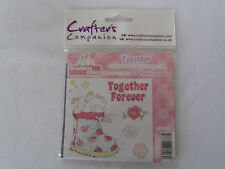 CRAFTERS COMPANION STRAWBERRY KISSES TOGETHER RUBBER STAMP SET