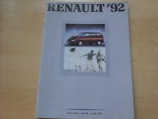 52130) Renault Alpine A610 - Espace J63 - R25 - R21 Prospekt 09/1991