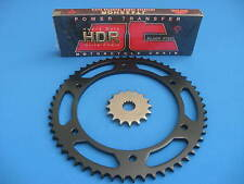 YAMAHA DT125 R   HEAVY DUTY CHAIN AND SPROCKET KIT SET   1990 - 2006