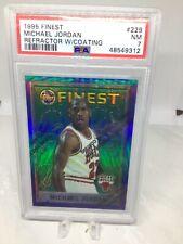 1995 Finest #229 Michael Jordan Refractor PSA 7 New Holder