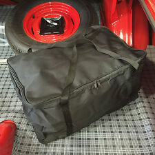 California Car Cover Deluxe Black Tote Duffel Bag for Cover Storage: Size Large