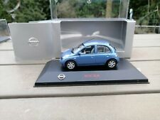 NISSAN MICRA MK12 Bleu J-COLLECTION 1:43 1/43   new in OVP (ZZZ)