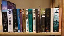 REGINALD HILL: job lot box collection of 13 adult fiction books