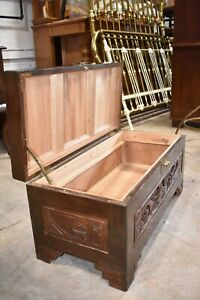 Antique Chinese Camphor Chest Trunk, Asian Inspired