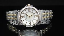 Bulova 98R167 Diamond Two Tone Mother Of Pearl Dial Womens Watch $499 GREAT GIFT