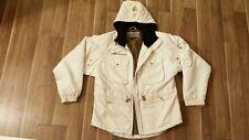 Women's Metropolis by Coulois Jacket Size 8 Beige Coat Sweater Dress Winter Warm