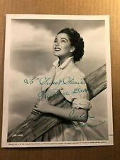 Julie Adams Rare Very Early Original Autographed 8/10 Photo '56 Creature Lagoon
