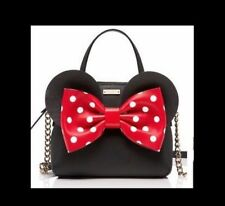 Kate Spade x Disney Minnie Mouse MAISE Bag Crossbody NWT Polka Dot Bow