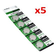 5Pcs CR2016 3V Batteries CR 2016 DL2016 ECR2016 3V Button Coin Cell Battery Pack