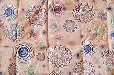 Eco Foldable Fashion Shopping Tote Bag Spirograph Multi Color Geometric