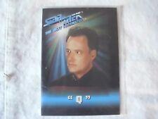 Star Trek Playmates Figure Trading Card (kirk,picard,rand,scott)C hoose from List