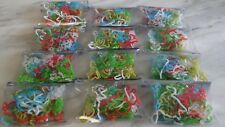 SILLY BANDZ FUN SHAPE BRACELETS GIRLS XMAS PARTY GOODY BAG JOBLOT 24 PACKS