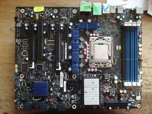 Intel DX58SO + CPU XEON W3550 + RAM 1Gb , LGA1366 Socket Motherboard