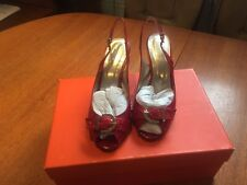 LOTUS Ladies Red Patent  Shoes  Size 5