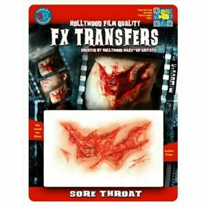 Tinsley Temporary Tattoo Special Effects Transfers Halloween Horror Make Up Lot