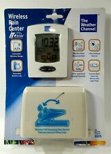 The Weather Channel 9005 Wireless Rain Center Device New Sealed Fast Ship
