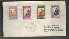 1936 Niamey Niger Cover AOF to USA