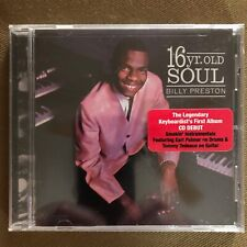 Billy Preston - 16 Year Old Soul - (CD, 2013, Real Gone Music) Brand New/Sealed