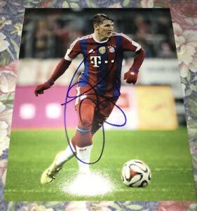 Bastian Schweinsteiger Signed 8x10 Photo - Germany World Cup Bayern Munich