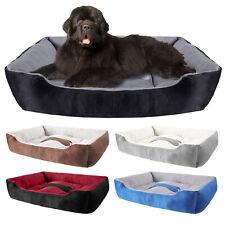 Soft Fleece Pet Bed Large Warm Dog Cat Puppy Sleeping Mat Cushion Cozy Kennel
