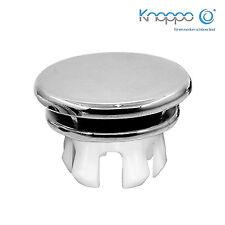 2er Set Waschbecken Überlaufblende / Überlauf Design Abdeckung - Mirror (chrom)