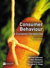"""""""VERY GOOD"""" Consumer Behaviour: A European Perspective, Hogg, Margaret K.,Askega"""