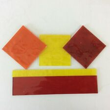 Stained Glass Tools/ Supplies Glass Pack 5Popular Selected expensive colours