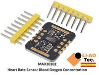 MAX30102 Heart Rate Sensor Pulse Detection Blood Oxygen Concentration Test