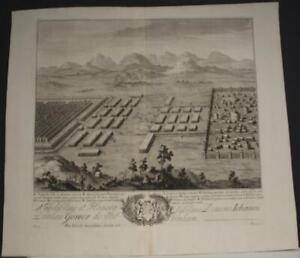 NICAPOLIS TURKEY 1710 DANIEL STOPENDAAL ANTIQUE ORIGINAL COOPER ENGRAVED MAP