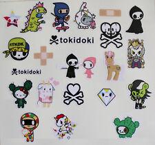 22pcs Vinyl Stickers Tokidoki for Snowboard Luggage Car Laptop Bike Phone 64-65