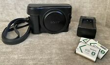 Sony Cyber-shot DSC-HX50V 20.4MP Digital Camera with Leather Case