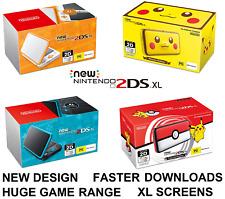 New Nintendo 2DS XL Handheld Console Pokemon Pikachu Poke Ball Limited Edition