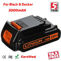 LB20 For Black & Decker LBXR20 20V MAX Lithium Ion Battery LCS1620 LDX220 Tool