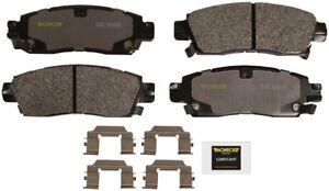 Disc Brake Pad Set-Total Solution Semi-Metallic Brake Pads Rear Monroe DX883