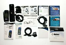 Garmin eMap Am Portable Handheld Gps Receiver W/ Maps and Accessories